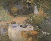 Claude Monet The lunch (san27) oil painting picture wholesale