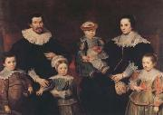 Cornelis de Vos The Family of the Artist (mk08) oil