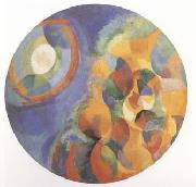 Delaunay, Robert Simulaneous Contrasts Sun and Moon (mk09) oil