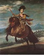 Diego Velazquez Prince Baltasar Carlos Equestrian (mk08) oil painting picture wholesale