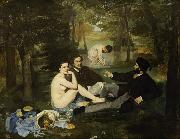 Edouard Manet Dejeuner sur I'herbe (mk09) oil painting picture wholesale