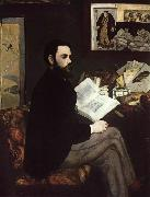 Edouard Manet Portrait of Emile Zola (mk09) oil painting picture wholesale