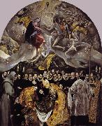 El Greco The Burial of Count Orgaz (mk08) oil painting
