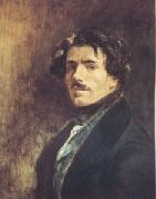 Eugene Delacroix Portrait of the Artist (mk05) oil painting picture wholesale