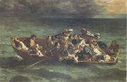 Eugene Delacroix The Shipwreck of Don Juan (mk05) oil painting picture wholesale
