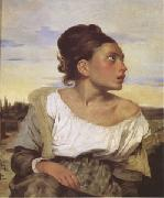 Eugene Delacroix Orphan Girl at the Cemetery (mk05) oil painting picture wholesale