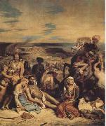 Eugene Delacroix The Massacre of Chios (mk09) oil painting picture wholesale