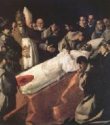 Francisco de Zurbaran The Lying-in-State of St Bonaventure (mk05) oil painting picture wholesale