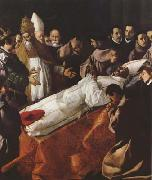 Francisco de Zurbaran The Death of St Bonaventura (mk08) oil painting picture wholesale