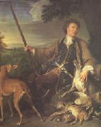 Francois Desportes Portrait of the Artist in Hunting Dress (mk05) oil painting picture wholesale