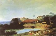 Frans Post Hacienda (mk08) oil painting picture wholesale