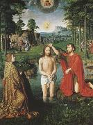 Gerard David The Baptism of Christ (mk08) oil painting picture wholesale