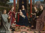 Gerard David The Mystic Marriage of St Catherine (mk08) oil painting picture wholesale