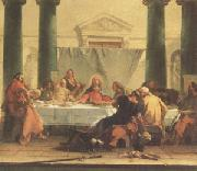 Giovanni Battista Tiepolo The Last Supper (mk05) oil painting picture wholesale