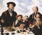 HEEMSKERCK, Maerten van Family Portrait (mk08) oil painting picture wholesale