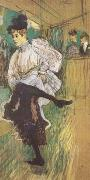 Henri de toulouse-lautrec Jane Avril Dancing (mk09) oil painting picture wholesale