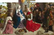 Hugo van der Goes Adoration of the Magi (mk08) oil painting picture wholesale