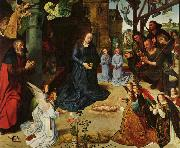 Hugo van der Goes Adoration of the Shepherds (mk08) oil painting picture wholesale
