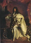 Hyacinthe Rigaud Louis XIV King of France (mk05) oil painting picture wholesale