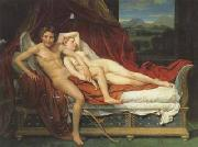 Jacques-Louis David Cupid and psyche (mk02) oil painting picture wholesale