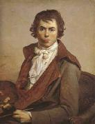 Jacques-Louis David self-Portrait (mk02) oil painting picture wholesale