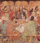Jaume Huguet Last Supper (mk08) oil painting picture wholesale