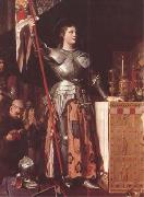 Jean Auguste Dominique Ingres Joan of Arc at the Coronation of Charles VII in Reims Cathedral (mk09) oil painting picture wholesale