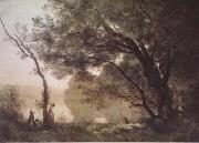 Jean Baptiste Camille  Corot Souvenir de Mortefontaine (mk11) oil painting picture wholesale