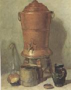 Jean Baptiste Simeon Chardin The Copper Urn (mk05) oil painting picture wholesale