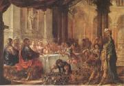 Juan de Valdes Leal The Marriage at Cana (mk05) oil painting picture wholesale