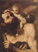 Jusepe de Ribera St Christopher (mk08) oil painting picture wholesale