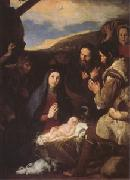 Jusepe de Ribera The Adoration of the Shepherds (mk05) oil painting picture wholesale