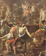 LE BRUN, Charles The Martyrdom of St John the Evangelist at the Porta Latina (mk08) oil painting picture wholesale