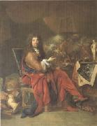 Largillierre Charles Le Brun Painter to the King (mk05) oil painting picture wholesale