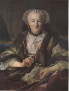 Louis Tocque Madame Dange wife of General Francois Balthazar Dange du Fay (mk05) oil painting artist