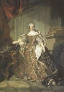 Louis Tocque Marie Leczinska Queen of France wife of Louis XV (mk05) oil painting artist