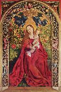 Martin Schongauer Madonna of the Rose Bower (mk08) oil painting artist