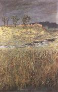 Max Klinger Landscape at the Unstrut (mk09) oil painting picture wholesale