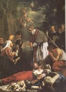 OOST, Jacob van, the Younger St Macaire of Ghent Tending the Plague-Stricken (mk05) oil painting picture wholesale