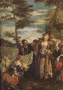 Paolo  Veronese The Finding of Moses (mk08) oil painting picture wholesale