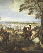 Parrocel, Joseph Crossing of the Rhine by the Army of Louis XIV on 12 June (mk05) oil painting picture wholesale