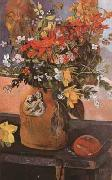 Paul Gauguin Still life with flowers (mk07) oil painting picture wholesale