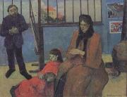 Paul Gauguin The Sudio of Schuffenecker or The Schuffenecker Family (mk07) oil painting picture wholesale