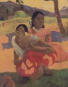 Paul Gauguin When will you Marry (mk07) oil painting picture wholesale