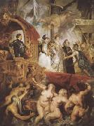 Peter Paul Rubens The Landing of Marie de'Medici at Marseilles (mk080 oil painting picture wholesale