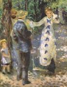 Pierre-Auguste Renoir The Swing (mk09) oil painting artist