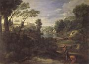 Poussin Landscape with Diogenes (mk05) oil painting picture wholesale