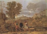 Poussin Apollo and Daphne (mk05) oil painting picture wholesale