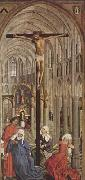 Rogier van der Weyden Crucifixion in a Church (mk08) oil painting picture wholesale