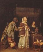 TERBORCH, Gerard The Letter (mk08) oil painting picture wholesale